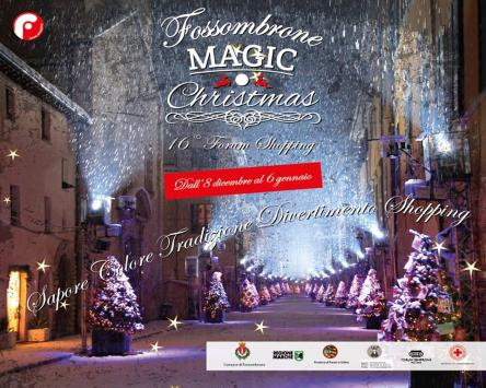 Fossombrone Magic Christmas 2016